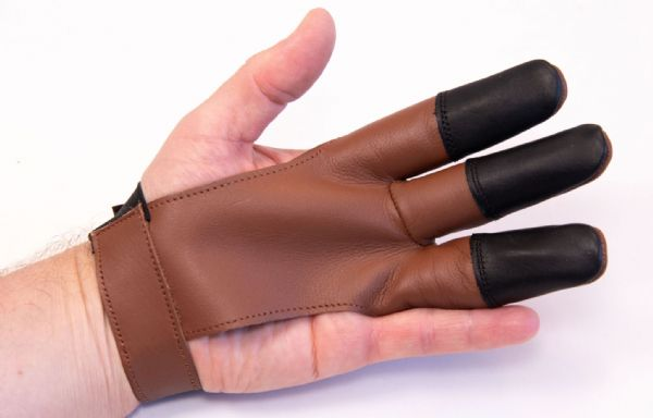 LEATHER GLOVE  small brown